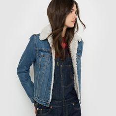 afbeelding Jeansvest LEVI'S Levis Jeans, Denim, Pret A Porter Feminin, Photoshoot, Celebrities, Casual, Jackets, Clothes, Style