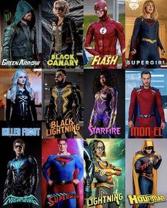 Heroes Dc Comics, Dc Comics Series, Dc Comics Art, Marvel Dc Comics, Supergirl Superman, Superman Lois, Supergirl And Flash, Flash Characters, Dc Comics Characters