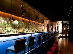 Backlit Bar Shelves Google Search My Favorite Plate Places - Bar design tribe hyperclub by paolo viera