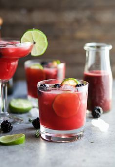 Are you looking for a signature drink for your next event or Cinco de Mayo party?  These THYME BLACKBERRY MARGARITAS, are as gorgeous as they are delicious! This is one smooth margarita with a hint of citrus, blackberry flavor and subtle notes of fresh thyme! You're gonna fall in love!  Make some for your mom this Mother's Day| #margarita #blackberry #CincodeMayo