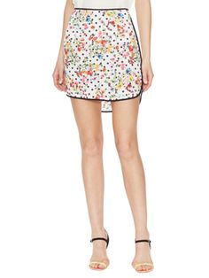 Fleur Floral Printed Skirt from Prints Please on Gilt