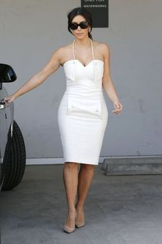 Kim Kardashian - Kim Kardashian & Kris Jenner Out Shopping In West Hollywood