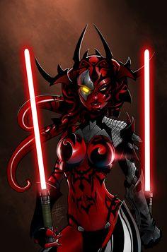Star Wars Art Gallery | ... _Darth_Talon_2d_fan_art_star_wars_sith_picture_image_digital_art.jpg