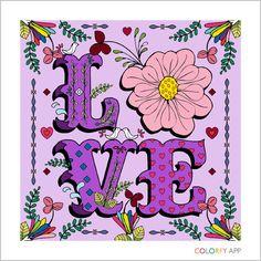 #colorfy #love