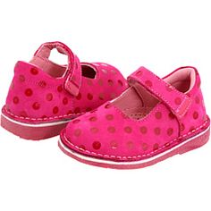 Pink Polka dot Mary Janes!  So cute - Zappos.com - KID EXPRESS CHARLOTTE