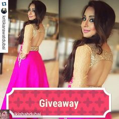 """@Regrann from @nikishahdubai -  Stay tuned as we Giveaway many many gifts this season. This is our first International giveaway. #nikishahgiveaway .  To win Niki Shah summer dress worth1000 dhs all you have to do is follow few steps. 1. Follow us on @nikishahdubai and @yourfashionbazaar 2.Tag atleast 5 of your friends.  You can also  Repost the post . #nikishahdubai. """"More you post more you win.""""❤ #nikishah#nikishahbrides #customized#nikishahgowns #photography #weddingphotography #india…"""