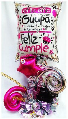 Arreglo Especial Feliz Cumpleaños Guapa!! www.globocentro.com.gt