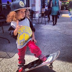 If joe and I ever have kids lol but it be a bike not a skateboard
