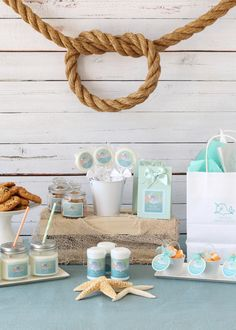 Welcome your baby with a whimsical narwhal baby shower! Shop the collection of narwhal favors, decorations and supplies.
