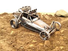 Metal Sculpture of the Trophy Truck Killer by Josh Welton by Brown Dog Welding, via Flickr