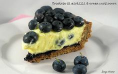 Crostata di mirtilli e crema pasticcera senza glutine vegan http://www.senzaebuono.it/crostata-di-mirtilli-crema-vegan-senza-glutine/