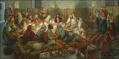 """Eternal Glow Services.  WOW! the Best """"Last Supper"""" painting I have ever seen! Great Job, Mr. Jekel!"""
