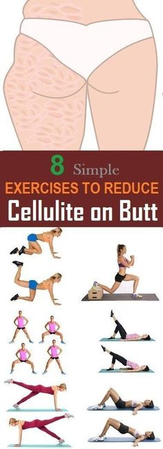 8 The most effective exercises to reduce cellulite on the buttocks Yoga & Fitn. - 8 The most effective exercises to reduce cellulite on the buttocks Yoga & Fitness - Yoga Fitness, Fitness Workouts, Fitness Motivation, Easy Workouts, Health Fitness, Workout Routines, Health Diet, Butt Workouts, Sport Motivation