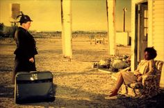 Bagdad Cafe ... quirky little gem of a film ... the haunting score alone is worth the movie ..
