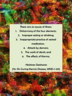 #Gosho 76: On Curing Karmic Disease, WND-1 631