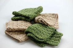 Easy Textured Cotton Wash Cloth - Free Crochet Pattern   Olives-n-Okra