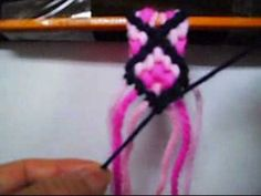 Kiwua How To Make Cross Friendship Bracelets. - YouTube