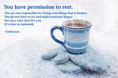 #rest #replenish