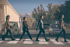 imagine dragons crosswalk scene from on top of the world