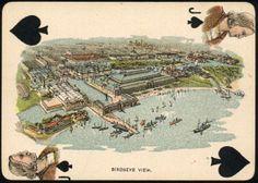 Nombre (Deck): Columbian Exposition . País (Country): USA. Fabricante (Made ): World's Fair Souvenir Card Co. (Date):1.892. BARAJA ORIGINAL. ORIGINAL CARDS