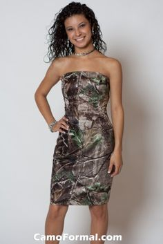 Maid of honor dress Realtree APG