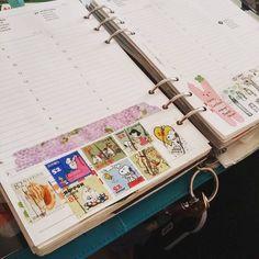 #upcycling #stamps and #washitape from @geluk0193 lovely envelope  #paperchaseA5 #filofax #filofaxaddict #filofaxuk #planner #planneraddict #RatotinhasFilofax #stationery #stationeryaddict #stationerylove #plannerlove #plannergoodies #plannernerd #stickers #stickeraddict #washitape