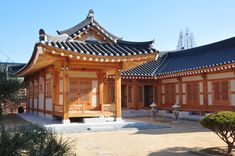 한옥 - 나무위키 Modern Japanese Architecture, Japanese Buildings, China Architecture, Modern Buildings, Architecture Details, Traditional House Plans, Cabana, Japanese House, Japanese Style