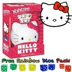 No Hello Kitty fan should be without this fun game. You'll hours and hours of enjoyment playing this game. Hello Kitty Games, Hello Kitty Toys, Fun Games, Games To Play, Fist Bump, Miss Kitty, Hello Kitty Collection, Board Games, Snoopy
