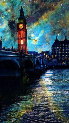 Fantasy Night In London http://theiphonewalls.com/fantasy-night-in-london/