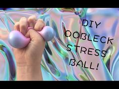 EASY DIY STRESS BALL WITH OOBLECK! (ORIGINAL IDEA) - YouTube