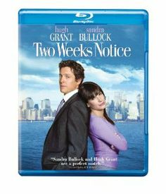 Amazon.com: Two Weeks Notice [Blu-ray]: Sandra Bullock, Hugh Grant, Dana Ivey, Alicia Witt, Heather Burns, Robert Klein, David Haig, Dorian ...