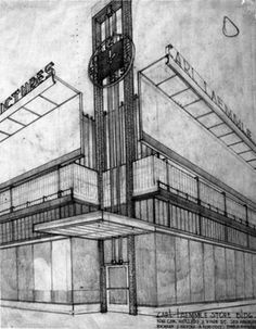 TILLAGE: Richard Neutra, Architect: Sketches and Drawings
