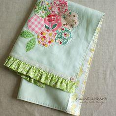hexagon tea towel