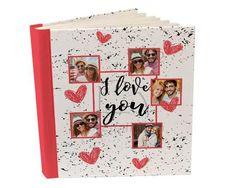 Album 26x30 con tasche I love you collage