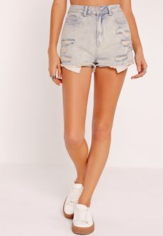 e1551889d429 Festival season is upon us which means one thing.ripped shorts are in!  These beauts are the must have summer staple and will see you through the  festival ...