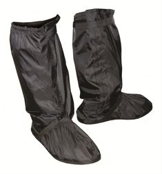 Marshall Racing Rain: Nothing is worse than being wet. Take the proactive approach and save your clothes and feet from a cold, sloppy, saturated nightmare! Marshall rain boot and shoe covers are made of 100 percent polyester PVC. They provide easy access and a secure fit with zipper and Velcro enclosures. Plus, they have custom rubber shoes and arrive in a handy, compact carrying bag. Stay dry on your next ride with Marshall rain boot covers!