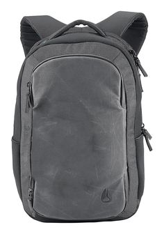 cotton / Nylon Distressed PU coated canvas -  Shadow World Traveler Backpack | Men's Bags | Nixon Watches and Premium Accessories