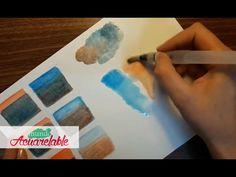 Técnicas con Lápices Acuarelables - Adición VS mezcla de color - YouTube