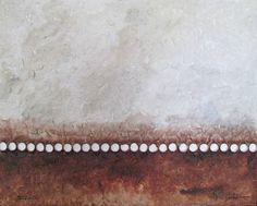 HORIZONTES DE SILENCIO  Horizonte - Voluntad (Mixta s/tabla 65 x 81)
