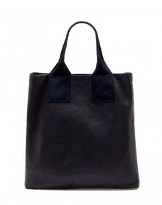 Lanvin Leather Shopping Bag
