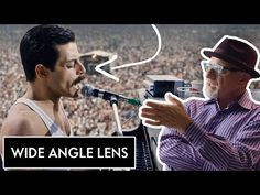 """Cinematographer Newton Thomas Sigel takes us through the differences between wide-angle, normal and telephoto lenses. He explains the science of each lens using examples from """"Bohemian Rhapsody,"""" """"Drive"""" and """"Three Kings"""". Film Studies, Editing Writing, Film School, Video Capture, Camera Hacks, Wide Angle Lens, Guerrilla, Best Photographers, Vanity Fair"""