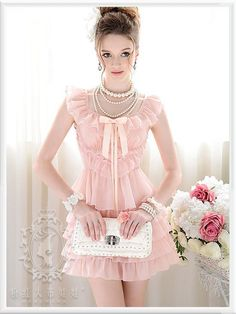 Mango Doll - Pretty Pink Ruffled Dress , $64.00 (http://www.mangodoll.com/all-items/pretty-pink-ruffled-dress/)