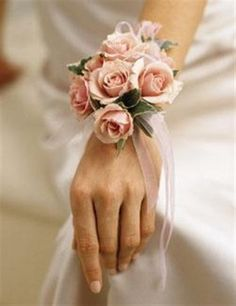 Corsage-I want one done similar to my bouquet so I can have it with me all night!