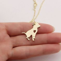 Cute Pit Bull Necklace