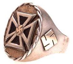 gold iron cross rings - Bing images