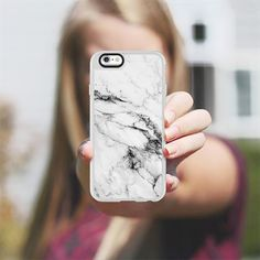 Black and White Marble - New Standard Case