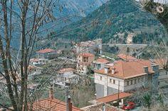 the beautiful village of Langadia Greece Grand Canyon, Greece, To Go, Places, Nature, Travel, Beautiful, Viajes, Naturaleza