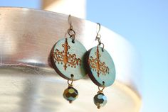 Come check out my new Etsy store.  Lots of unique Laser cut earrings.
