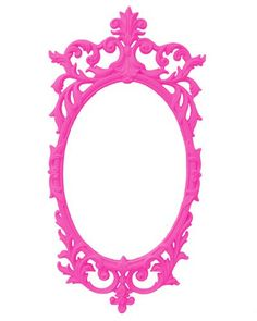 Kids mirrors | Mirror Wallpaper on Brightly Colored Ornate Baroque Syroco Mirror Kids ...