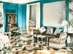 This is not soon to be my home but i do love. The Timeless Design of Albert Hadley - The Glam Pad Interior Design Quotes, Interior Design Renderings, Interior Rendering, Interior Design Inspiration, Color Inspiration, Interior Styling, Interior Decorating, Decorating Ideas, Teal Rooms